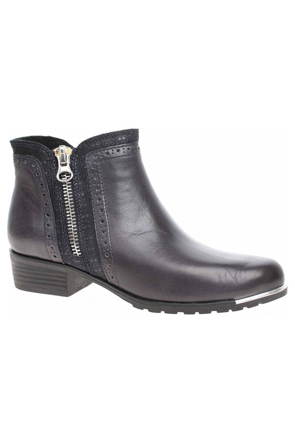 Modré dámské zimní boty Caprice - velikost 37 EU