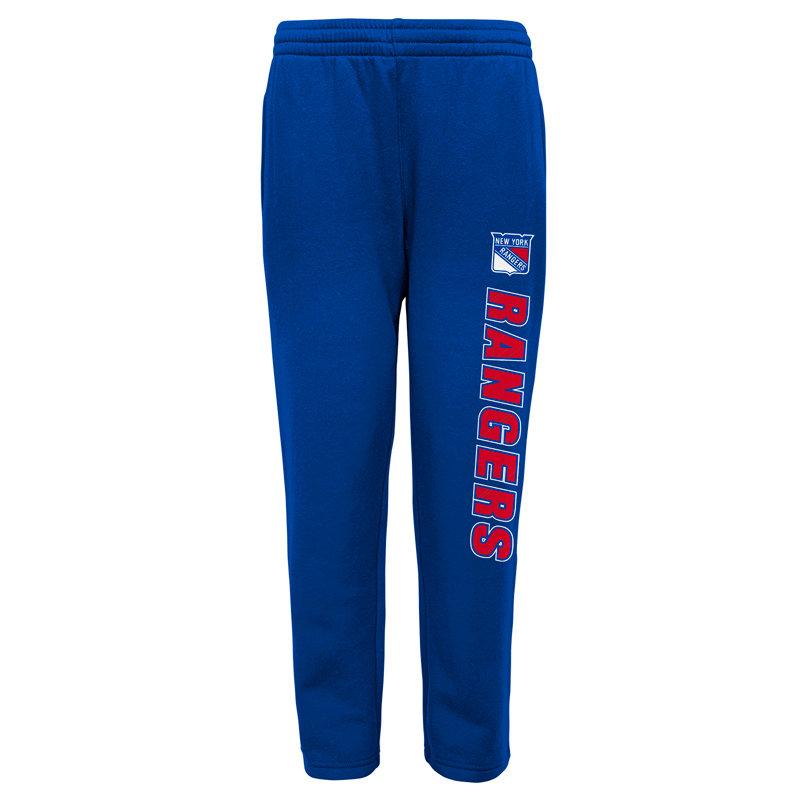 """Modré dětské chlapecké tepláky """"New York Rangers"""", Adidas - velikost L"""