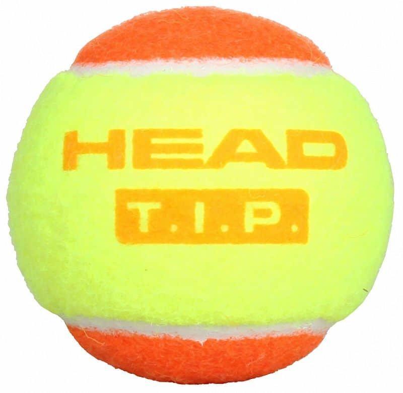 Tenisový míček - T.I.P. Orange tenisové míče, měkké balení: 1 ks