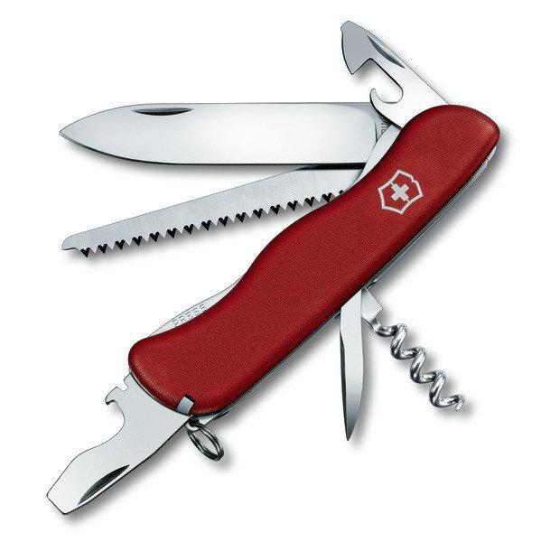 Nůž - Nůž Victorinox Forester Barva: červená