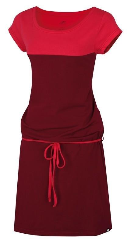 Červené dámské šaty Hannah