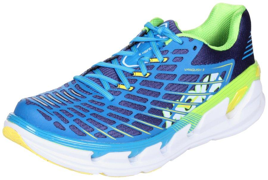 0ace559b6ba Modro-zelené pánské běžecké boty - obuv Hoka One One - velikost 44 ...