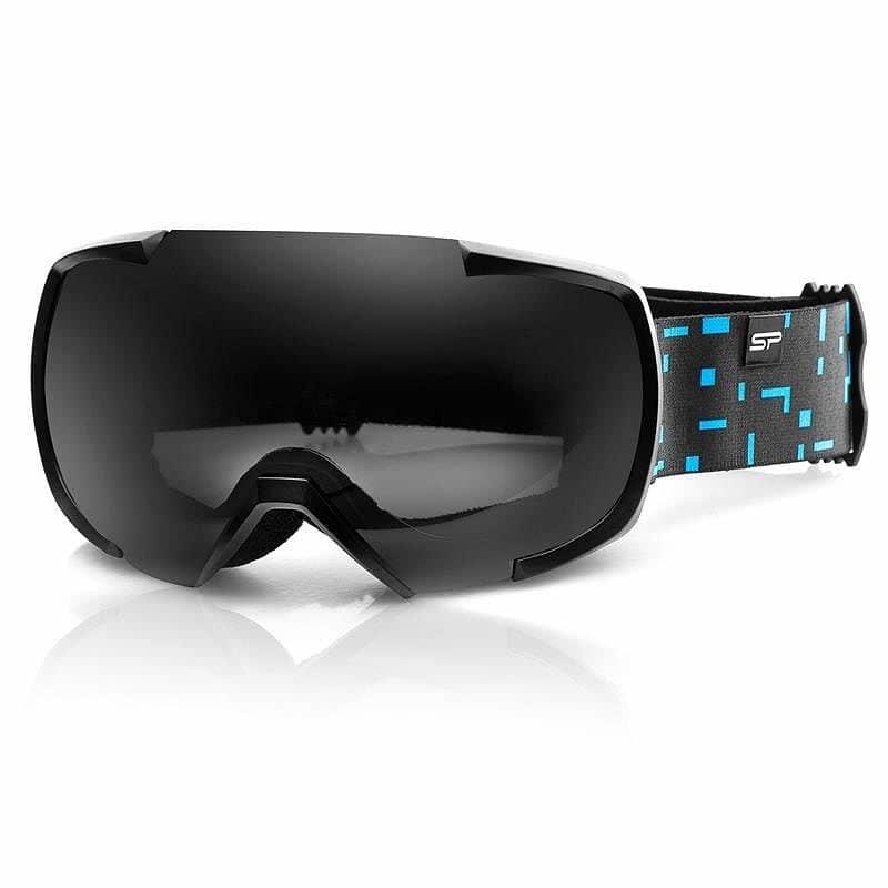 Černo-modré lyžařské brýle Spokey