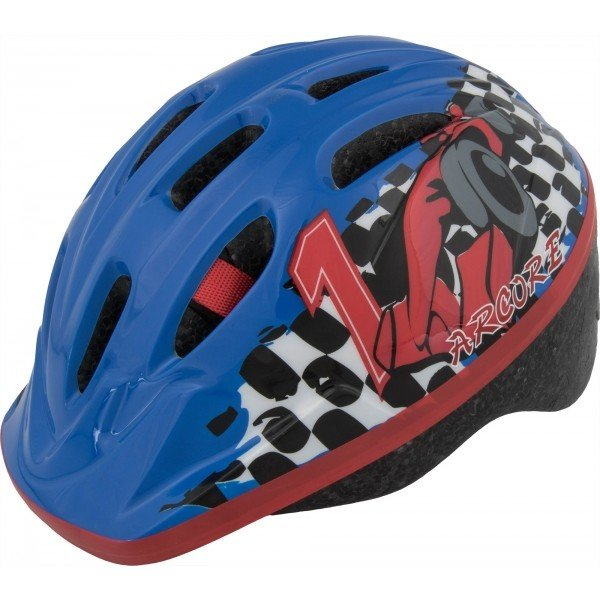 Modrá dětská cyklistická helma Arcore - velikost 50-54 cm