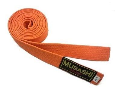 Oranžový judo pásek Musashi