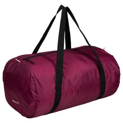 Fialová sportovní taška Domyos - objem 30 l