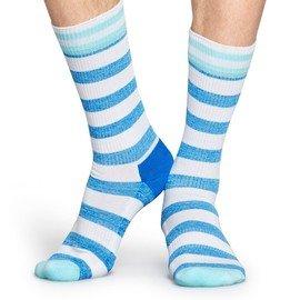 Černé pánské ponožky Athletic Stripe, Happy Socks