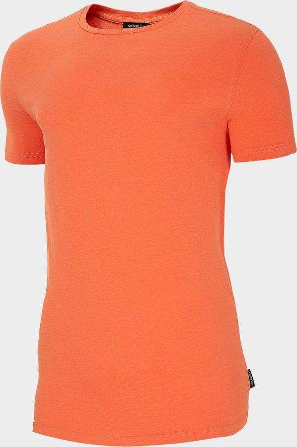 Oranžové pánské tričko s krátkým rukávem Outhorn