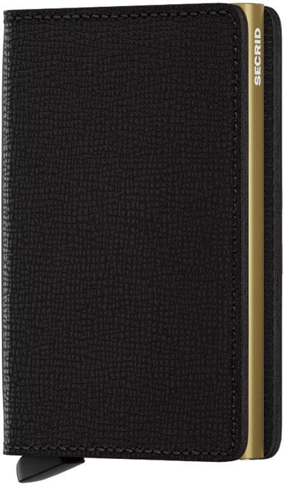 Peněženka - Secrid Slimwallet Crisple Black-Gold