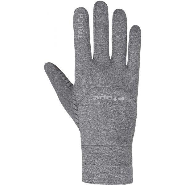 Šedé rukavice na běžky Etape