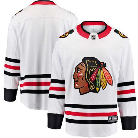 "Bílý unisex hokejový dres ""Chicago Blackhawks"", Fanatics"