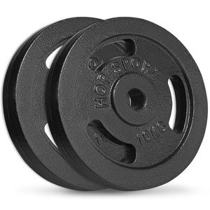 Litinový kotouč na činky Hop-Sport - 10 kg