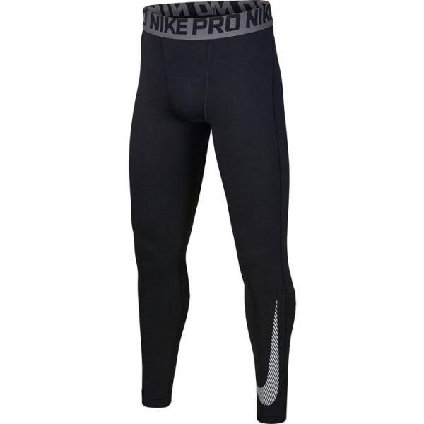 Černé chlapecké legíny Nike - velikost XL