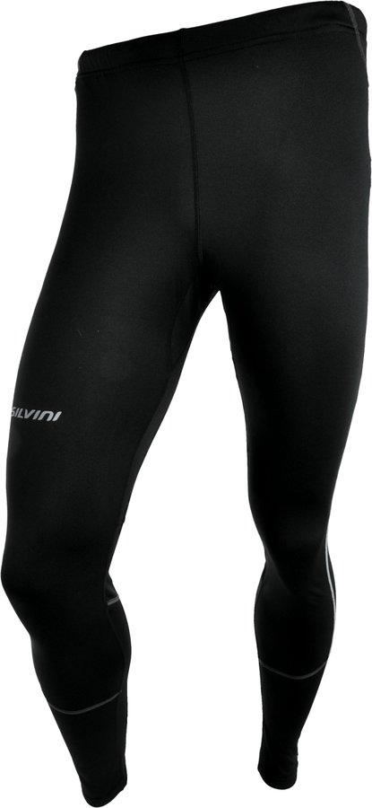Dlouhé zimní pánské cyklistické kalhoty s vložkou Silvini