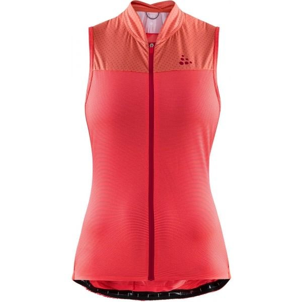 Cyklistické tričko - Craft HALE GLOW W červená XXL - Dámský cyklistický nátělník
