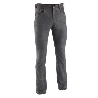 Černé pánské jezdecké kalhoty Fouganza