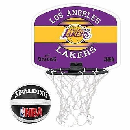 Basketbalový koš - Basketbalový koš Spalding Miniboard NBA LA Lakers