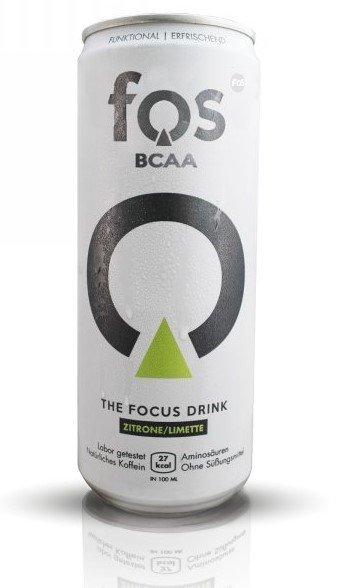 BCAA - BCAA - The Focus Drink - Fos Lemon lime 330 ml