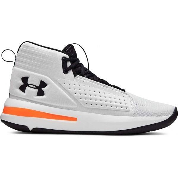Bílé pánské basketbalové boty Under Armour - velikost 44,5 EU
