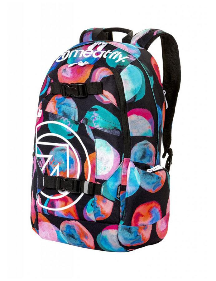 Batoh - Meatfly Basejumper 4 Backpack E - Blossom Black Velikost: JEDNOTNÁ VELIKOST