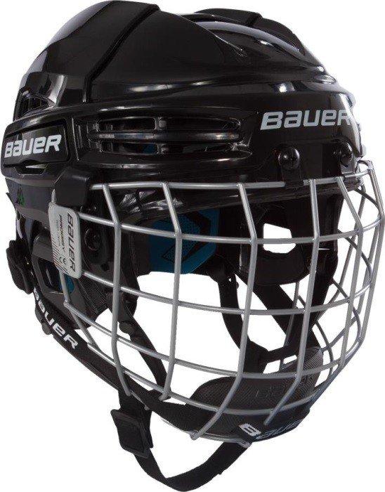 Hokejová helma - Helma Bauer Prodigy Combo YTH Barva: Modrá