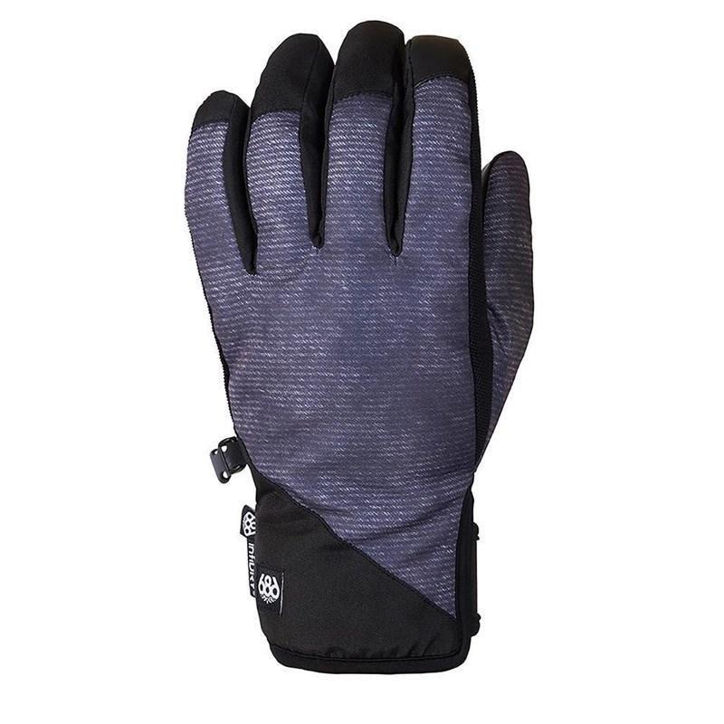 Černo-modré pánské lyžařské rukavice 686 - velikost M