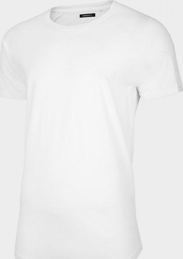 Bílé pánské tričko s krátkým rukávem Outhorn