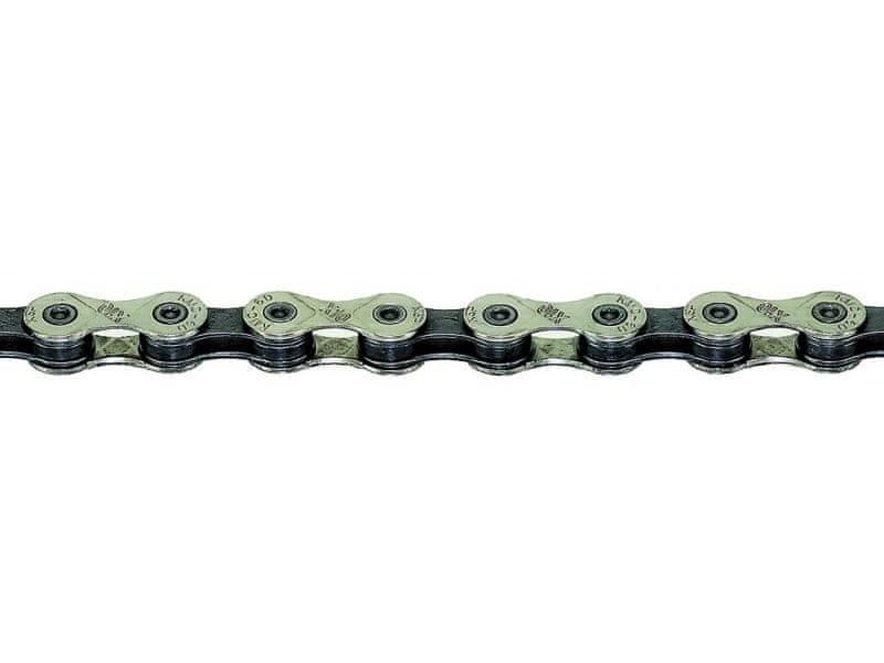 Řetěz na kolo - KMC řetěz X10.93 černo-stříbrný 114čl. BOX