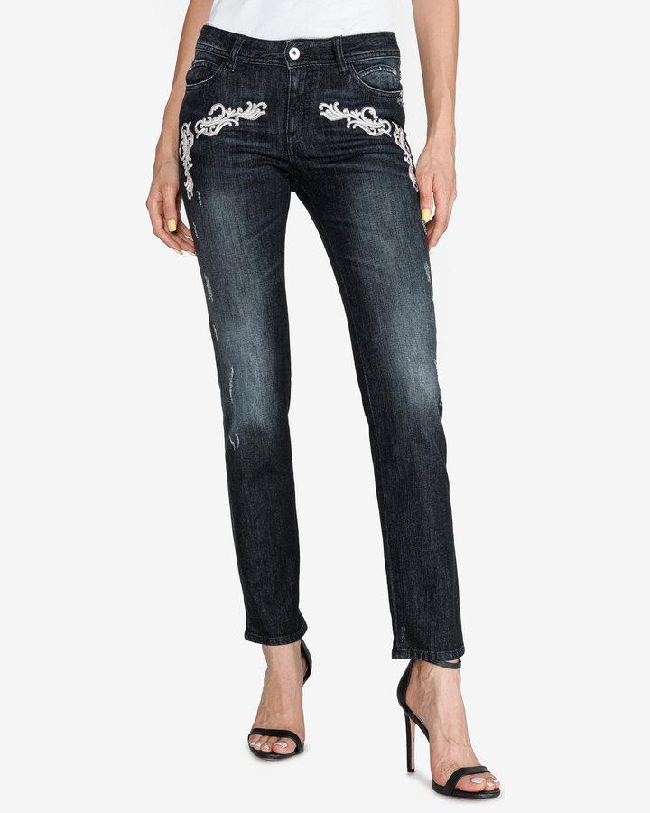 Černé dámské džíny Just Cavalli - velikost 26
