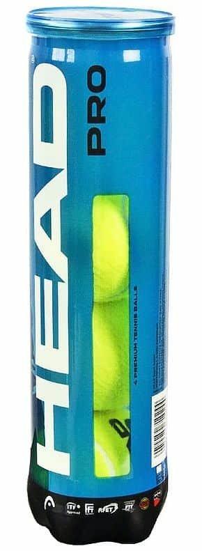 Tenisový míček - PRO tenisové míče balení: 4 ks