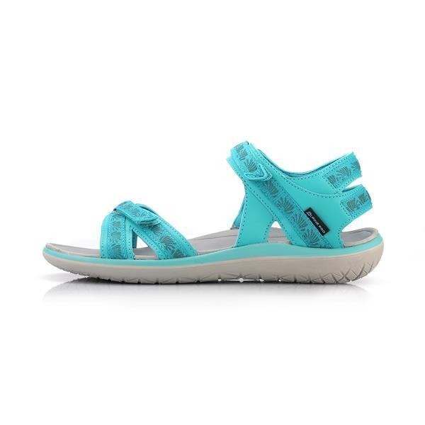 Zelené dámské sandály Alpine Pro - velikost 37 EU