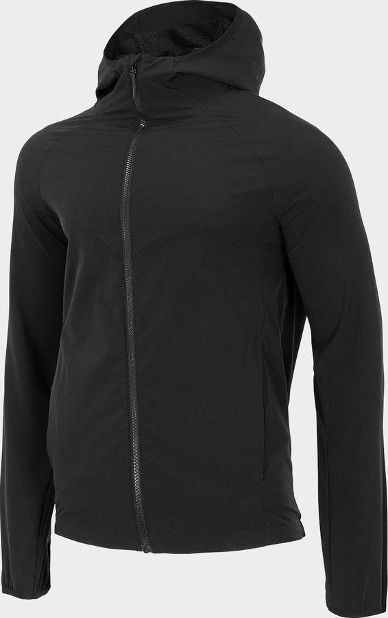 Černá pánská turistická bunda 4F - velikost S