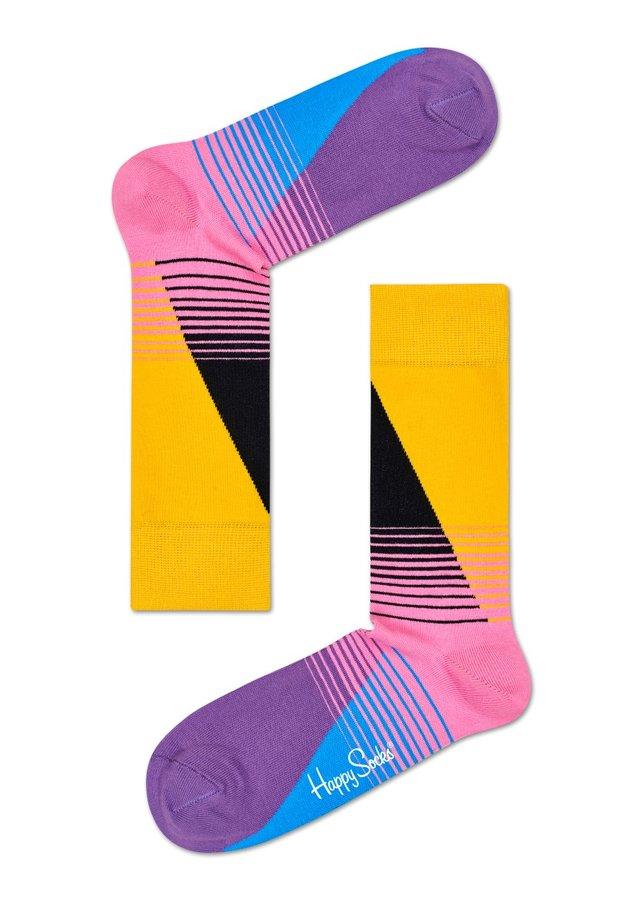 Ponožky - Happy Socks pruhované ponožky Eighties - 41-46