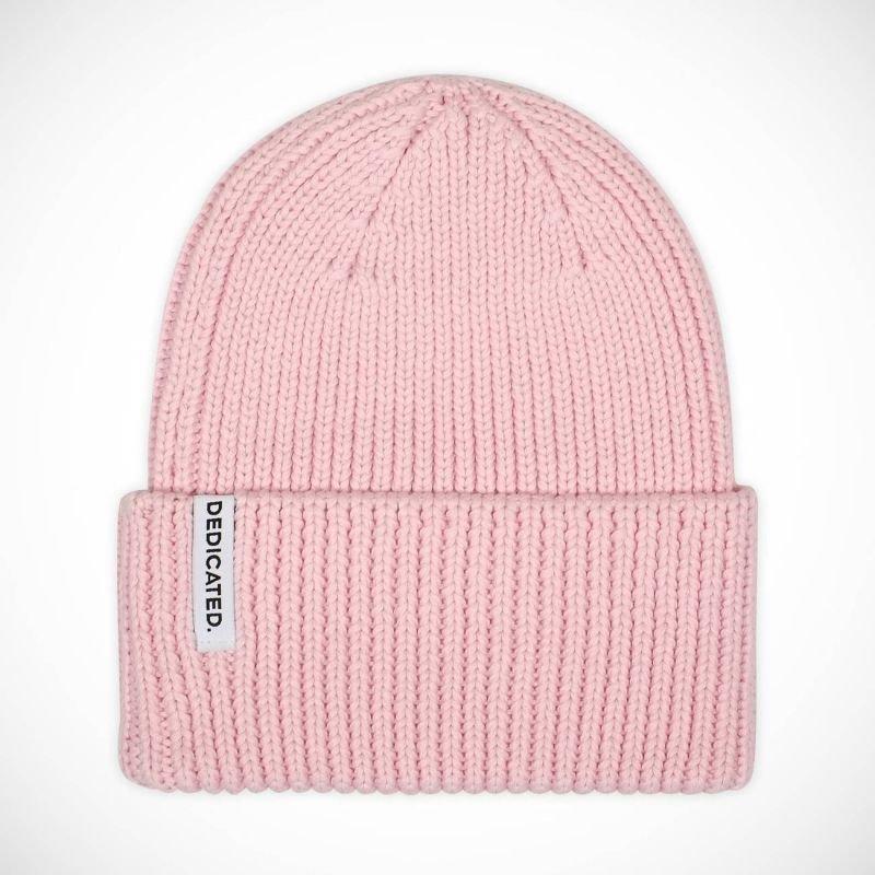 Růžová zimní čepice Dedicated - univerzální velikost