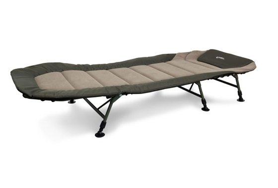 Šestinohé rybářské lehátko Warrior 6 Leg Bedchair, Fox International - délka 203 cm