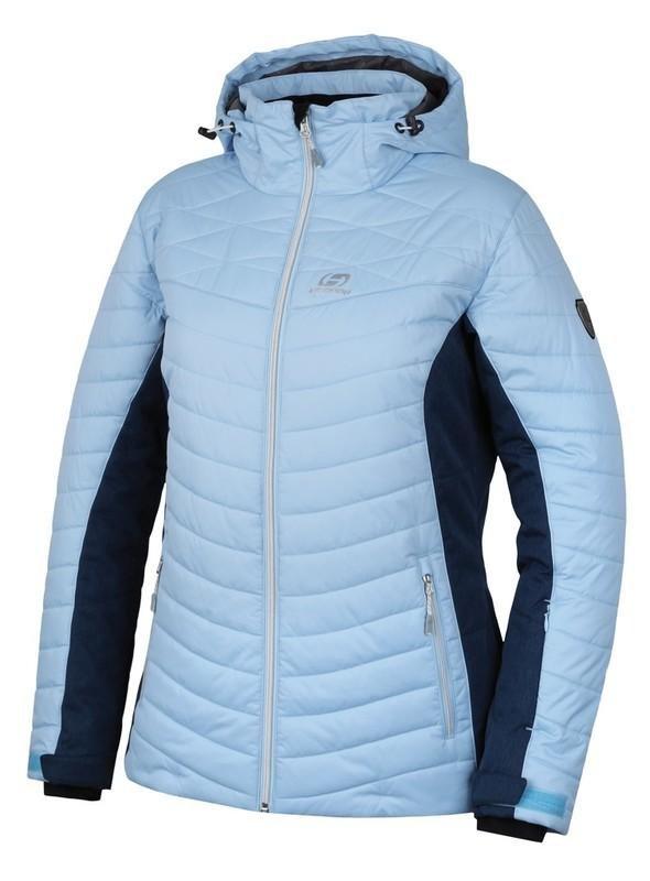Modrá dámská lyžařská bunda Hannah - velikost 42