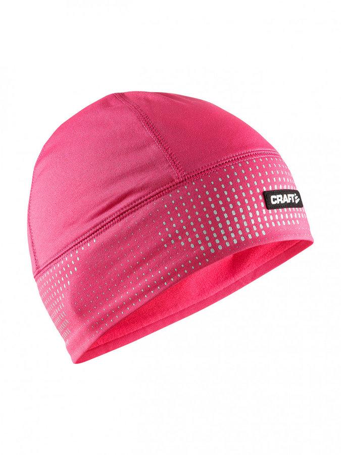 Růžová dámská zimní čepice Craft