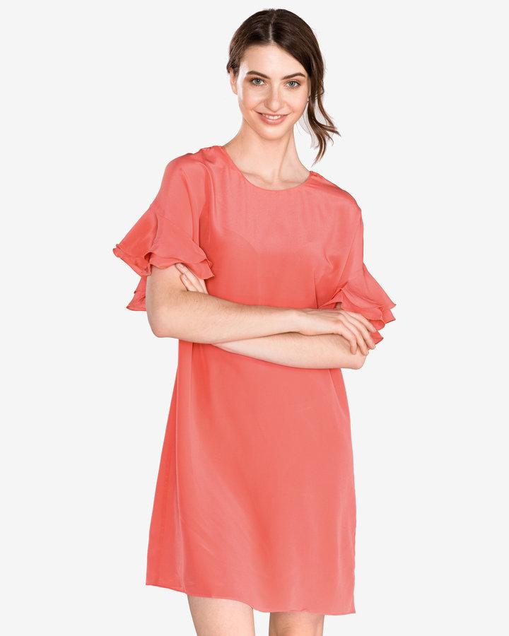 Oranžové dámské šaty Twinset