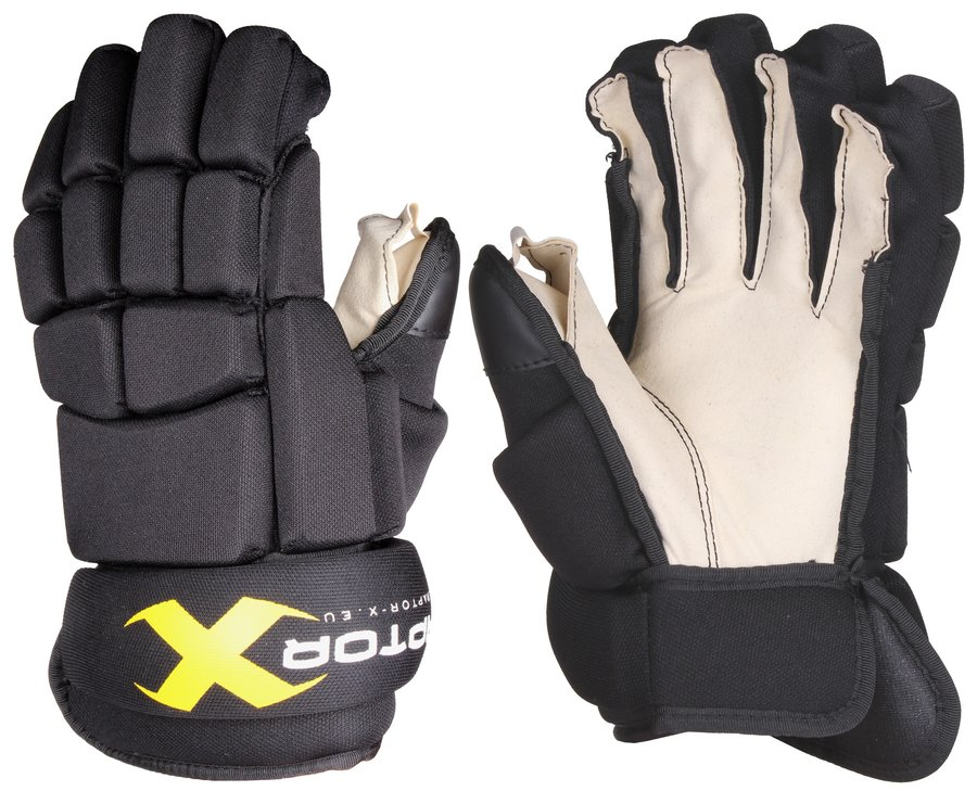 """Černé hokejové rukavice Raptor-X - velikost 12"""""""