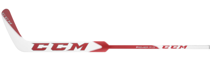 Levá brankářská hokejka - senior PREMIER R1.5 Composite, CCM - délka 69 cm