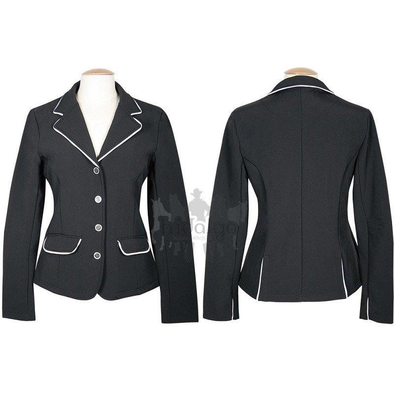 Černé závodní dámské jezdecké sako St.Tropez, Harry's Horse