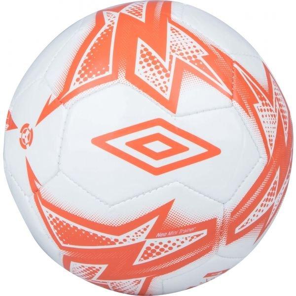 Bílo-červený fotbalový míč Umbro