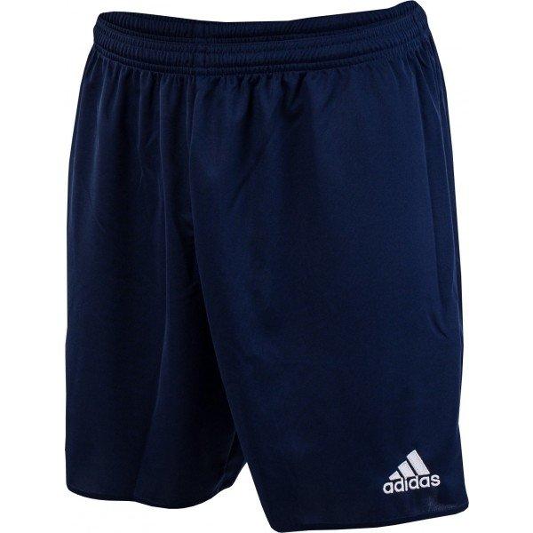 Modré pánské fotbalové kraťasy Adidas