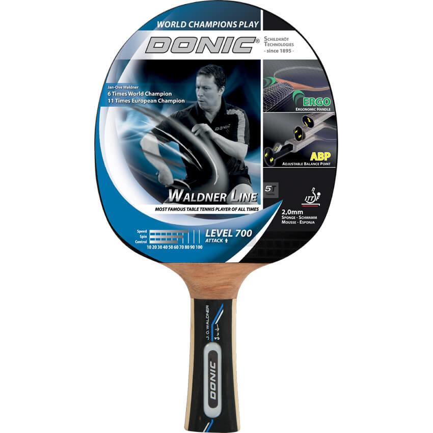 Dřevěná pálka na stolní tenis Waldner 700, Donic