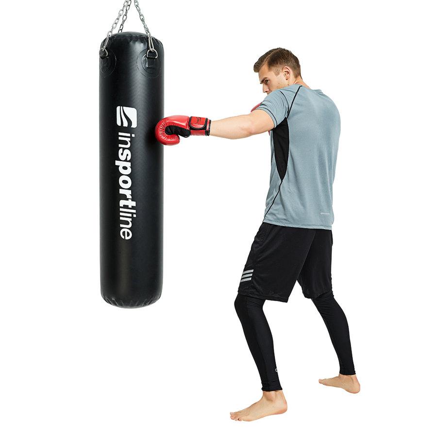 Černý vodní boxovací pytel inSPORTline - 80 kg