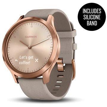 Šedé chytré hodinky VivoMove Optic Premium, Garmin