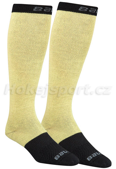Béžové hokejové ponožky ELITE Performance, Bauer