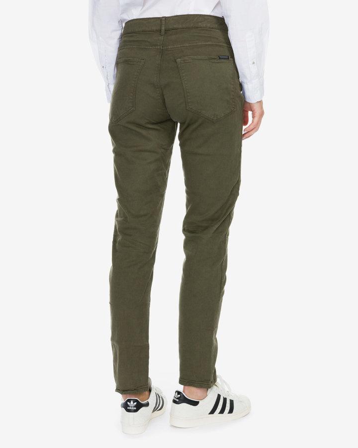 Zelené dámské džíny Scotch & Soda - velikost 28