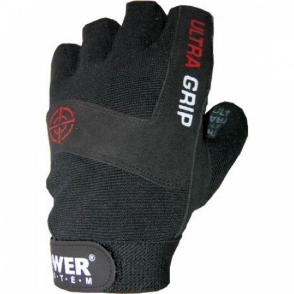 Černé pánské fitness rukavice Power System