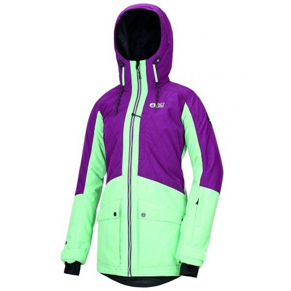 Fialová dámská lyžařská bunda Picture
